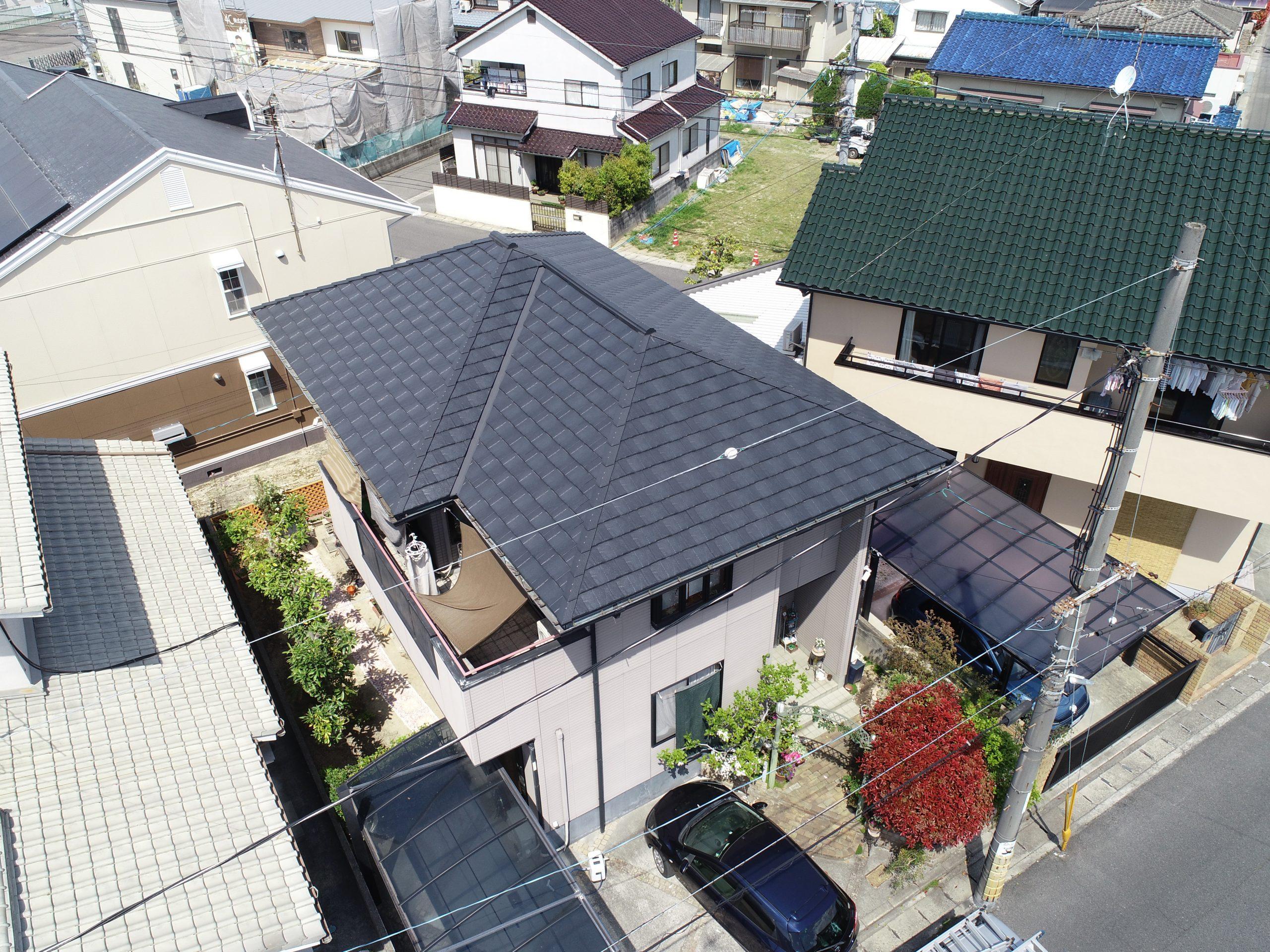 岡山市南区のK様 屋根