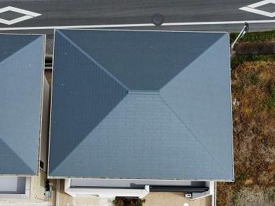 玉野市のF様の屋根