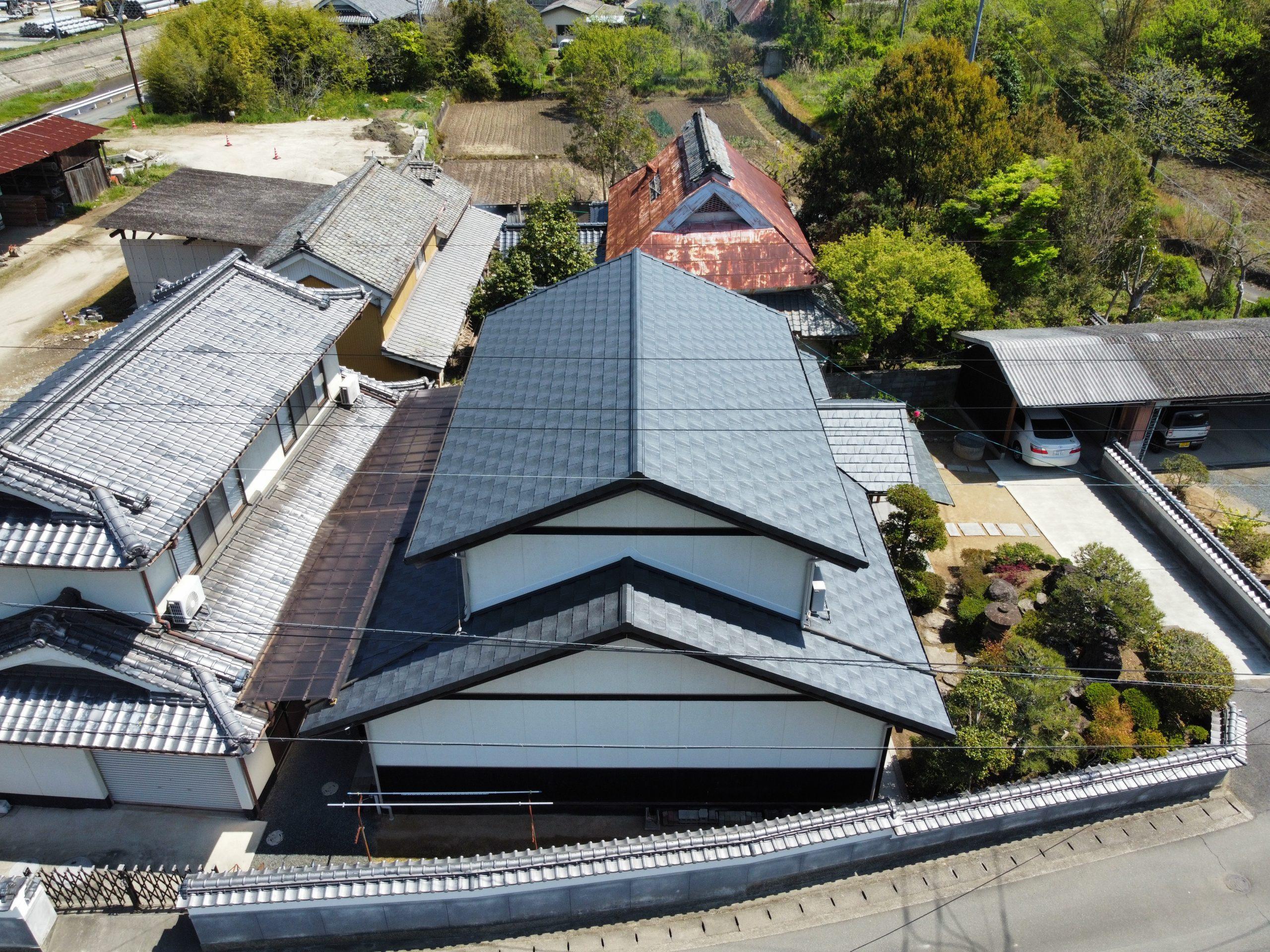 笠岡市のS様 屋根