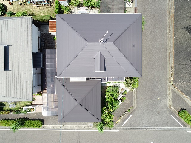 岡山市中区のH様の屋根
