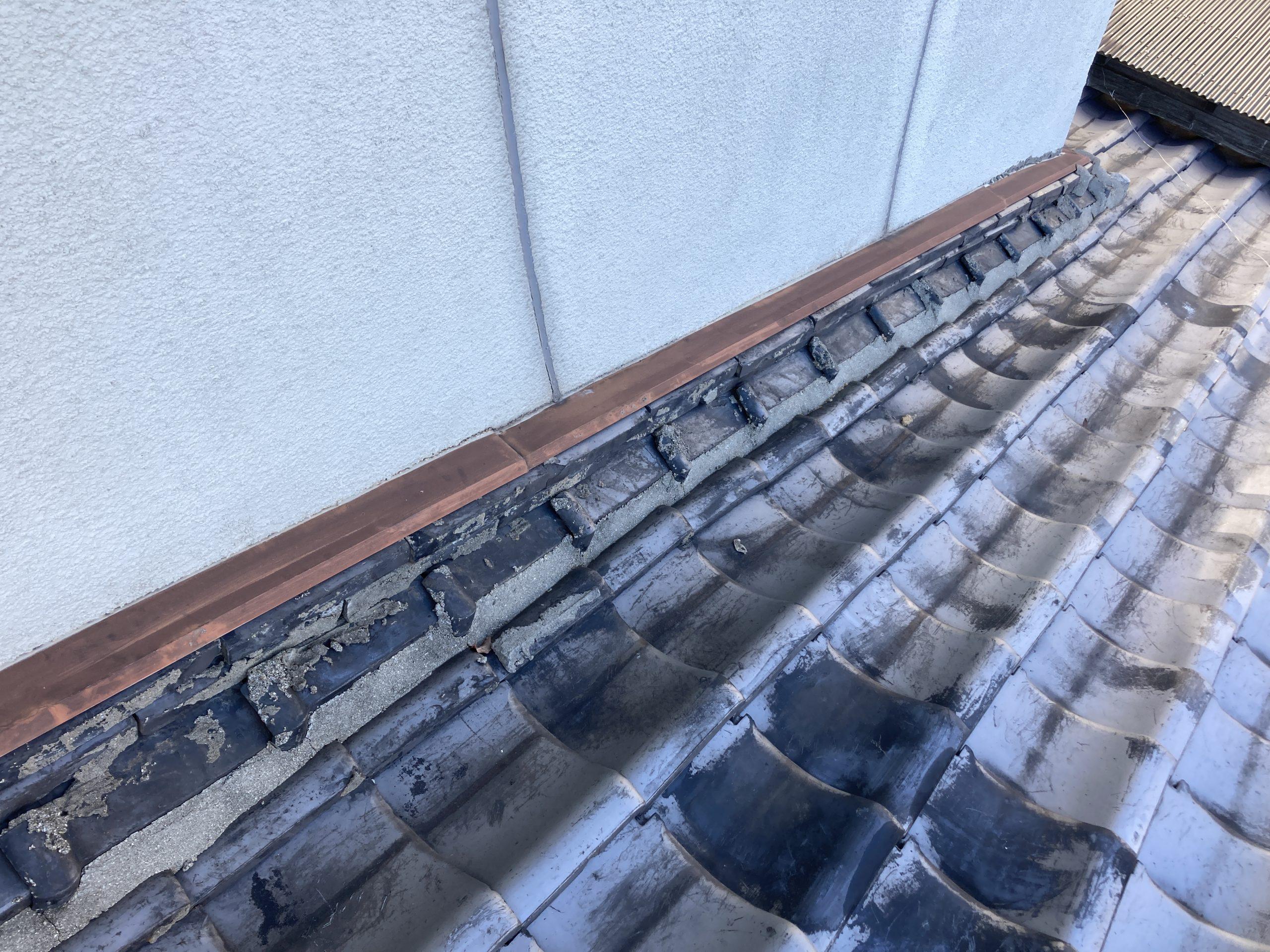 笠岡市のS様 屋根調査