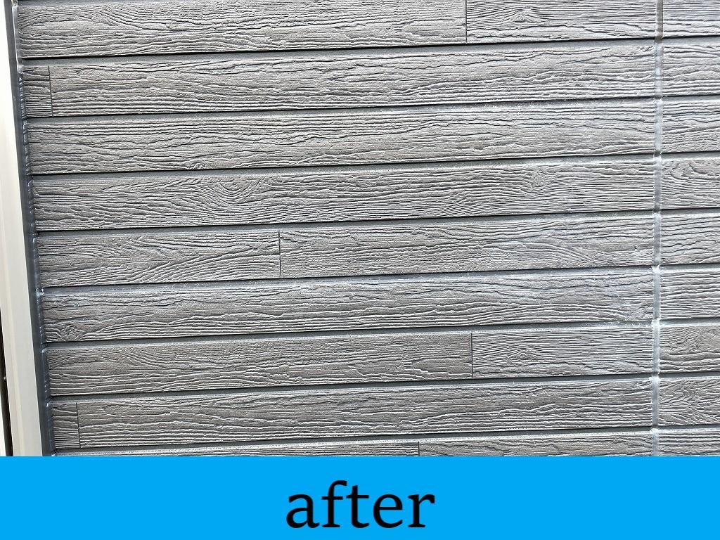 外壁補修完成