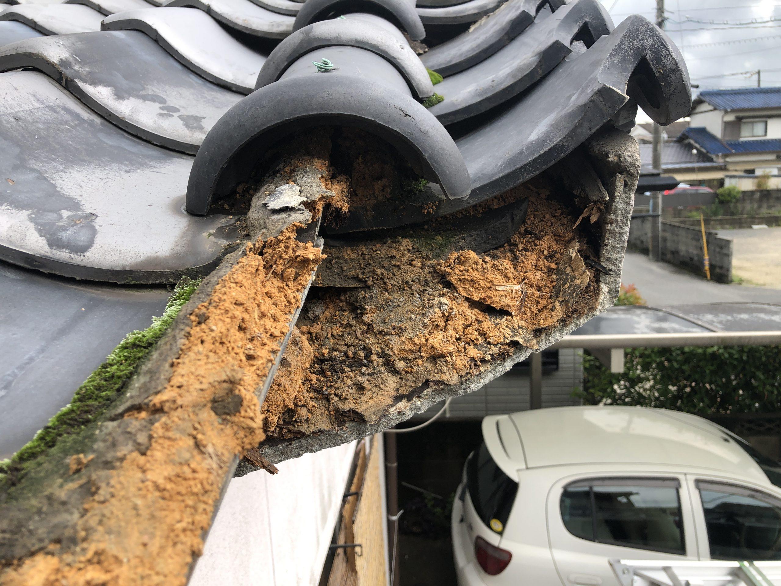 岡山市南区のU様 屋根調査