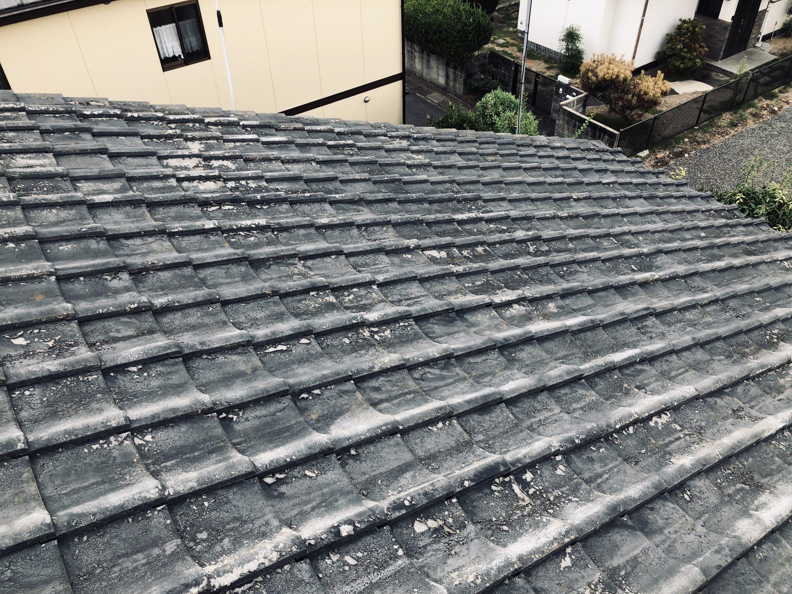 岡山市中区のW様 屋根調査