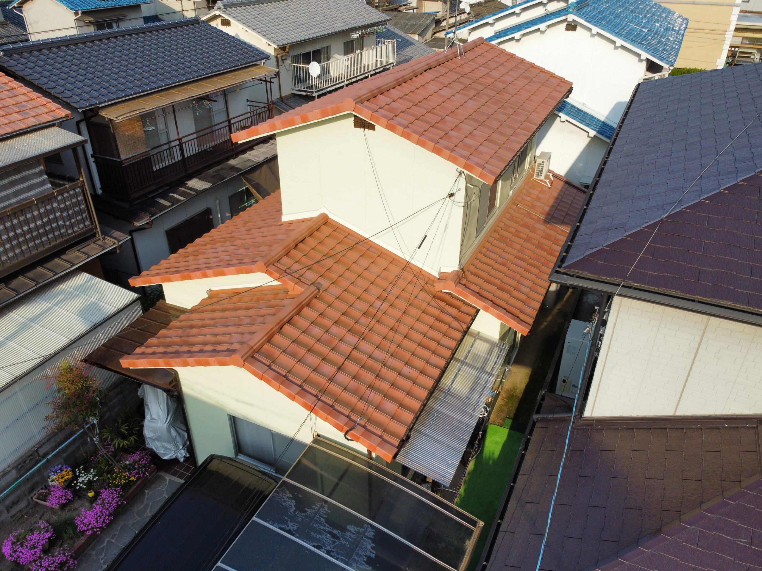 岡山市南区のU様 屋根