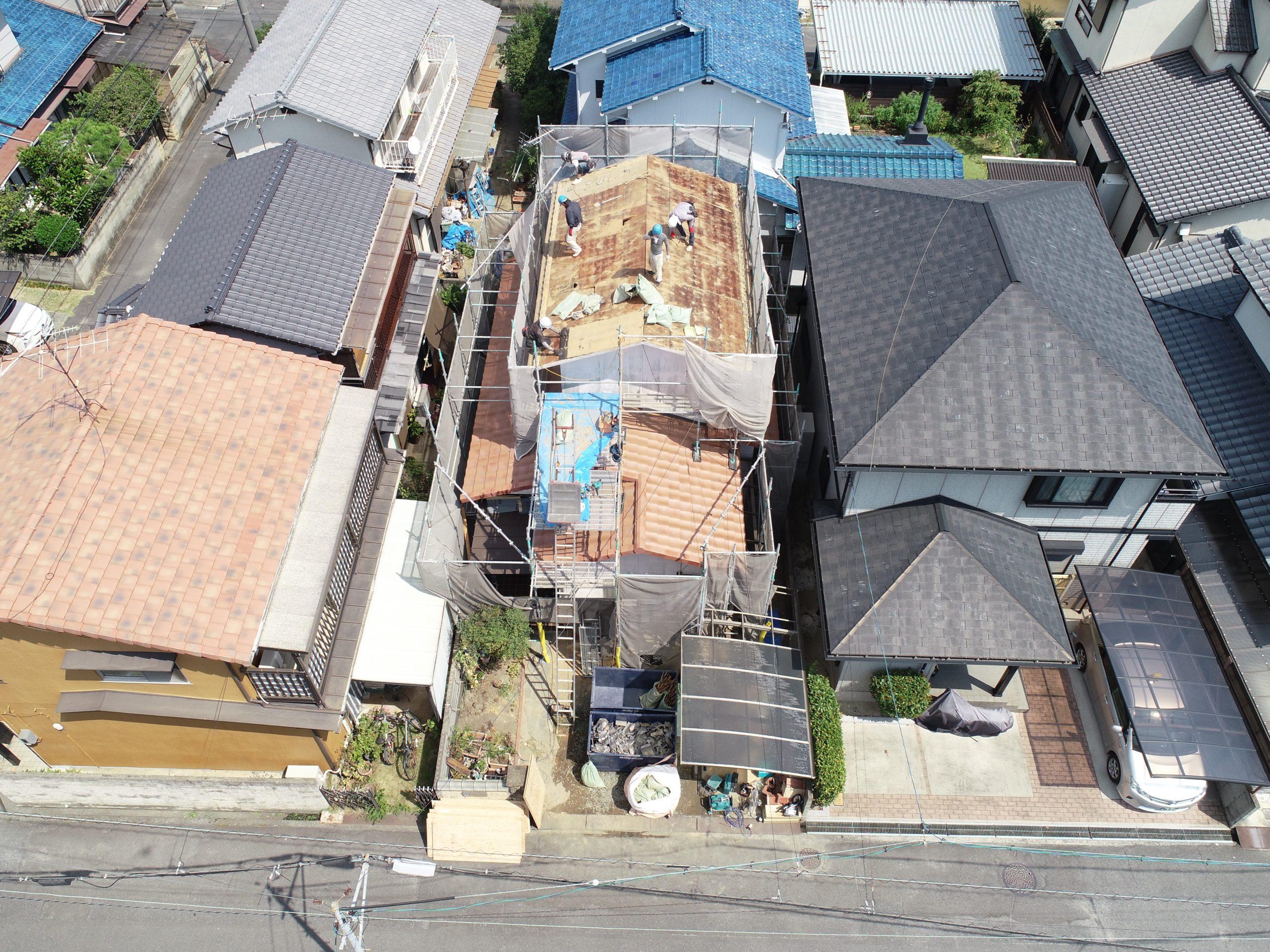 岡山市南区のU様 施工