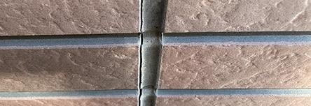 繋ぎ目のシーリング剤の劣化
