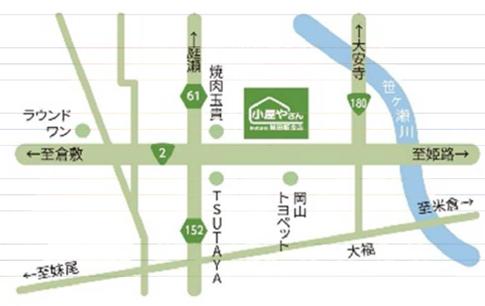 小屋の森 MAP
