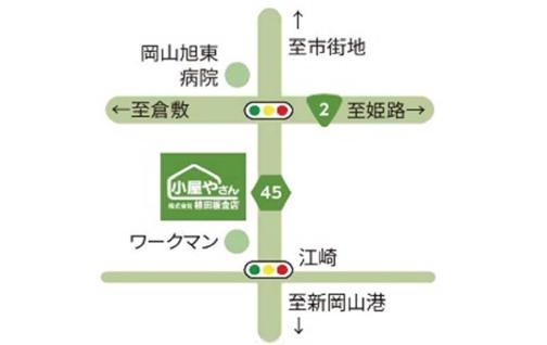 江崎無人展示場 MAP