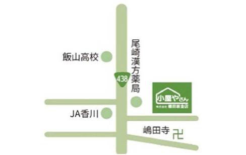 丸亀無人展示場 MAP