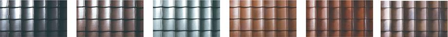 ルーガ雅のカラー展開は6色。