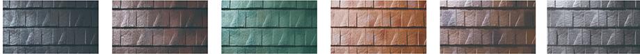 ルーガ鉄平のカラー展開は6色です。